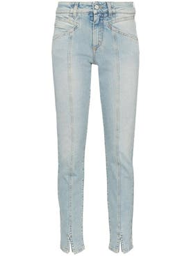 Givenchy - Visible Seam Straight-leg Jeans - Women