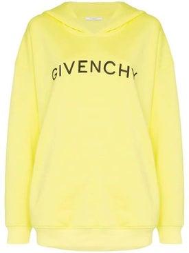 Givenchy - Logo Print Hoodie - Women