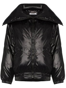 Givenchy - Logo Printed Tech Fabric Bomber Jacket - Women