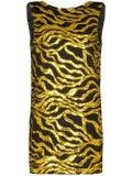 Halpern - Black And Gold Sequin Mini Dress - Women