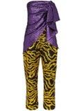 Halpern - Multi-textured Sequin Jumpsuit - Women