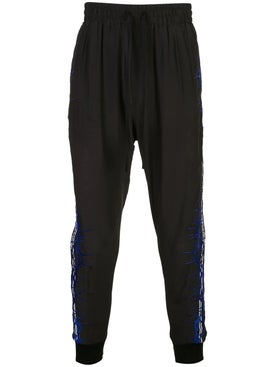 Haider Ackermann - Embroidered Silk Joggers - Men