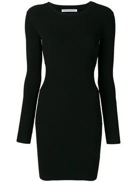 Alexanderwang.t - Cut-out Detail Dress Black - Women