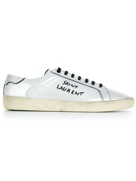 Saint Laurent - Sl/06 Low-top Sneakers Silver - Men