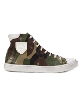 Camo print Bedford high top sneakers