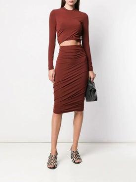 Alexanderwang.t - Twisted Pencil Skirt - Women