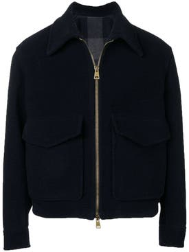 Ami Alexandre Mattiussi - Patch Pockets Jacket Blue - Men