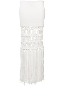 Sonia Rykiel - Fringed Skirt - Women