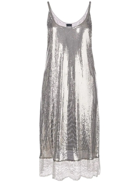 Paco Rabanne - Lace Hem Dress - Women