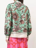 Gucci - Pussy-bow Blouse Green - Women