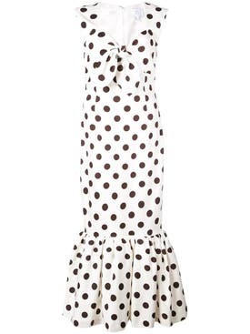 Rebecca De Ravenel - Tie Front Tulip Dress - Women