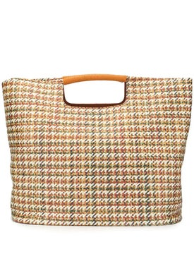 Simon Miller - Houndstooth Tote Bag - Women