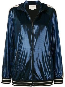 Gucci - Logo Stripe Track Jacket - Women