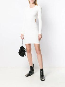 Alexanderwang.t - Cut-out Detail Dress Off-white - Women