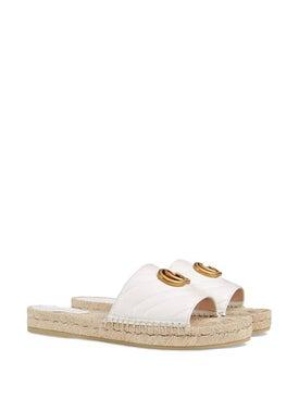 Gucci - Leather Espadrille Sandal - Women