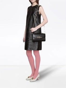 Gucci - Horsebit Shoulder Bag Black - Women