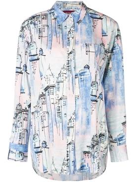 City print shirt MULTICOLOR
