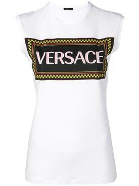 Versace - Logo Print Tank Top - Women