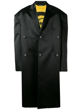 Raf Simons - Shiny Tailored Coat - Men