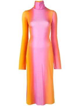 Bach tie-dye dress