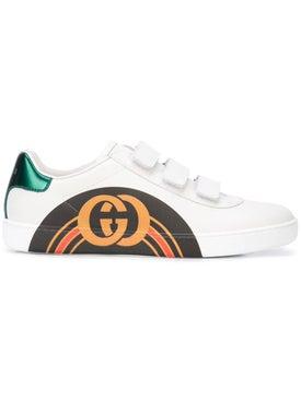 Gucci - Logo Print Sneakers - Women