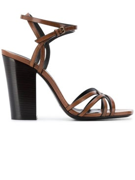Saint Laurent - Oak Crisscross Sandals - Women