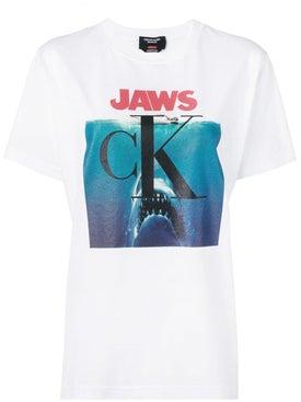 Calvin Klein 205w39nyc - Jaws Logo T-shirt - Women