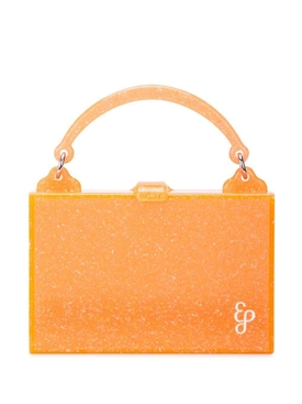 Orange small box bag