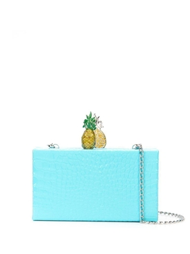 Embossed Fruit Box Clutch