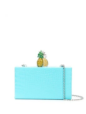 Edie Parker - Embossed Fruit Box Clutch - Women