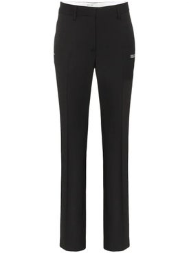 Off-white - High Waisted Cigarette Pant - Women