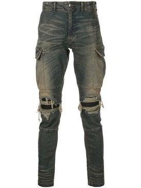 Amiri - Mx1 Denim Cargo Pants Grey - Men