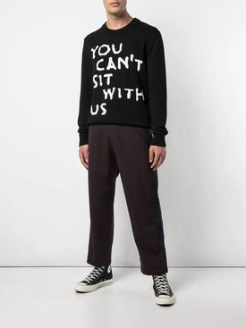 Nasaseasons - You Cant Sit With Us Pullover Sweater - Men