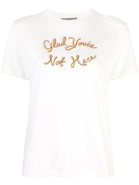 Alexachung - Glad You're Not Here T-shirt - Women