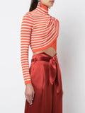Sies Marjan - Judy Cinsa Cropped Jumper Orange - Women