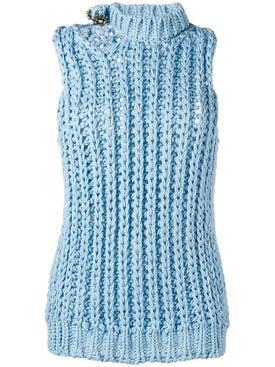 Calvin Klein 205w39nyc - Sleeveless Knitted Top - Women