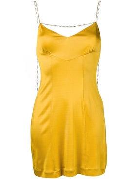 Alexachung - Crystal-chain Slip Dress - Women