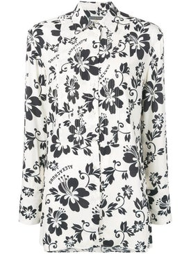 Alexachung - Hawaiian Flower Print Shirt - Women