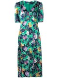 Saloni - Eden Dress Green - Women