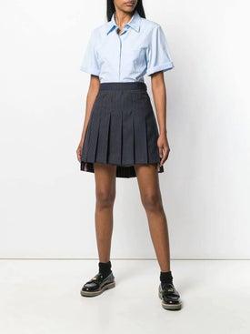 Thom Browne - Short Pleated Skirt - Women