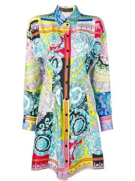 Versace - Barocco Print Shirt Dress - Women