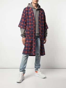 Fear Of God - Plaid Sweater Blue/red - Men