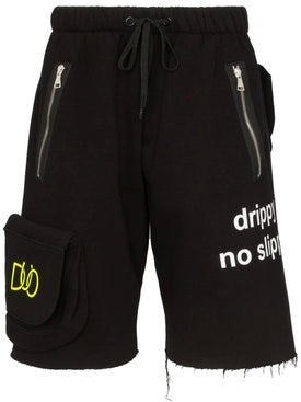 Duo - Multi-pocket Track Shorts - Shorts