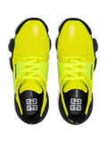 Givenchy - Black And Yellow Jaw Sneakers - Men