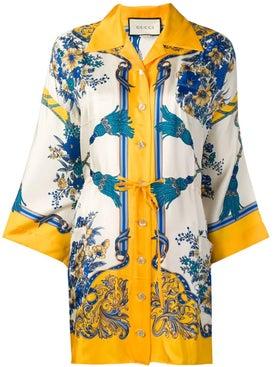 Gucci - Printed Kimono Shirt - Women