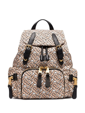 Burberry - Small Monogram Print Rucksack - Women