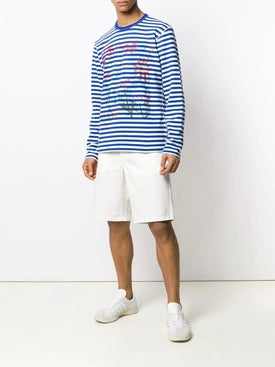 - White Chino Shorts - Men