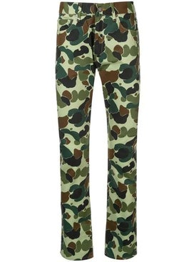 Junya Watanabe Comme Des Garcons Man - Abstract Camo Print Jeans - Men