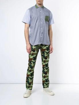 Junya Watanabe Comme Des Garcons Man - Abstract Camo Print Jeans - Men
