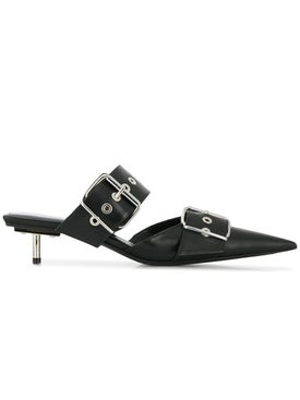Balenciaga - Belt Mule Black - Women
